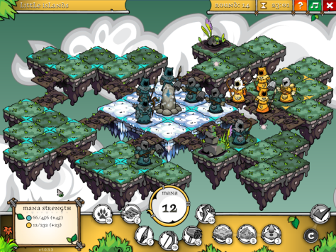 There's a decent array of atmosphere through varying tilesets.